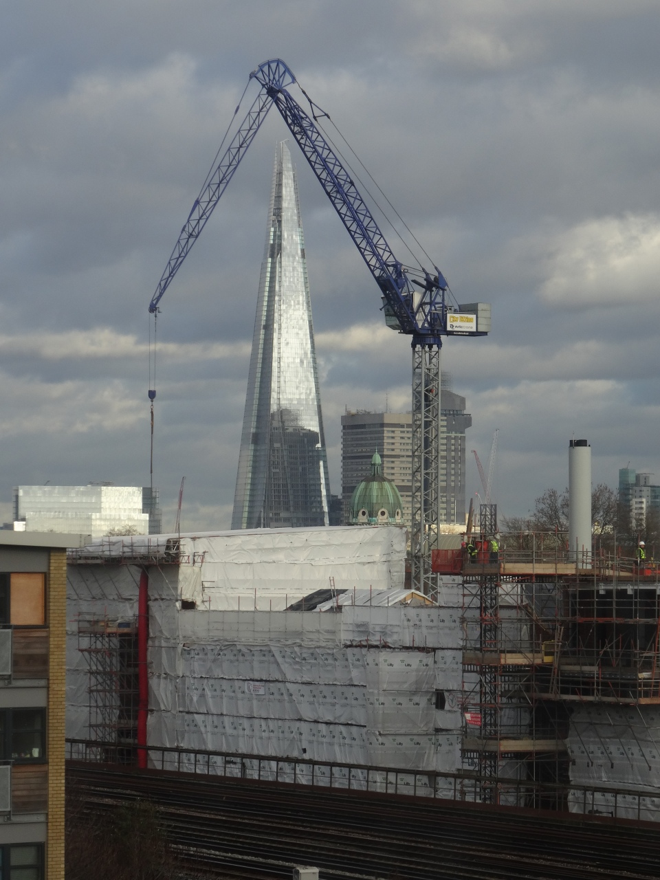 Shot from my office window in Southwark, London
