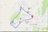 Map my Run alt four miles, Winchster