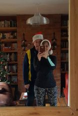 Mirror pic heading out for a final #adventrunning run