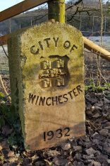 City of Winchester milestone