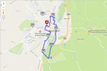 Map my Run six miles Winchester